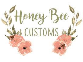 Honey Bee Customs Full Logo