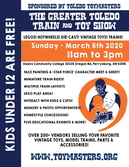 Greater Toledo Train & Toy Show