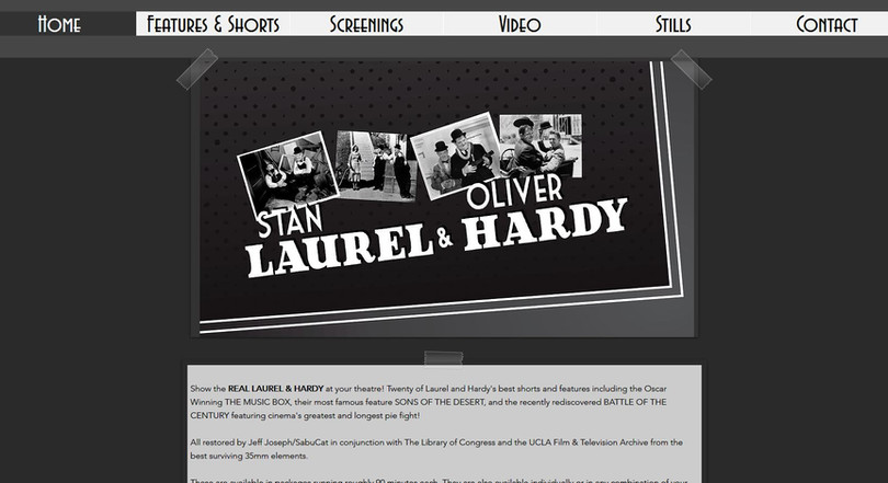 Restored Laurel & Hardy