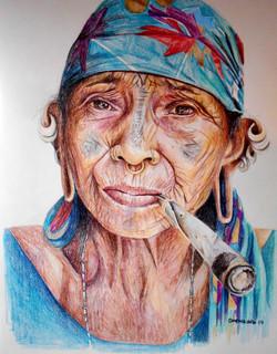 The Smoking Woman