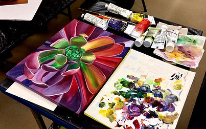 painting lessons, art lessons, paint party