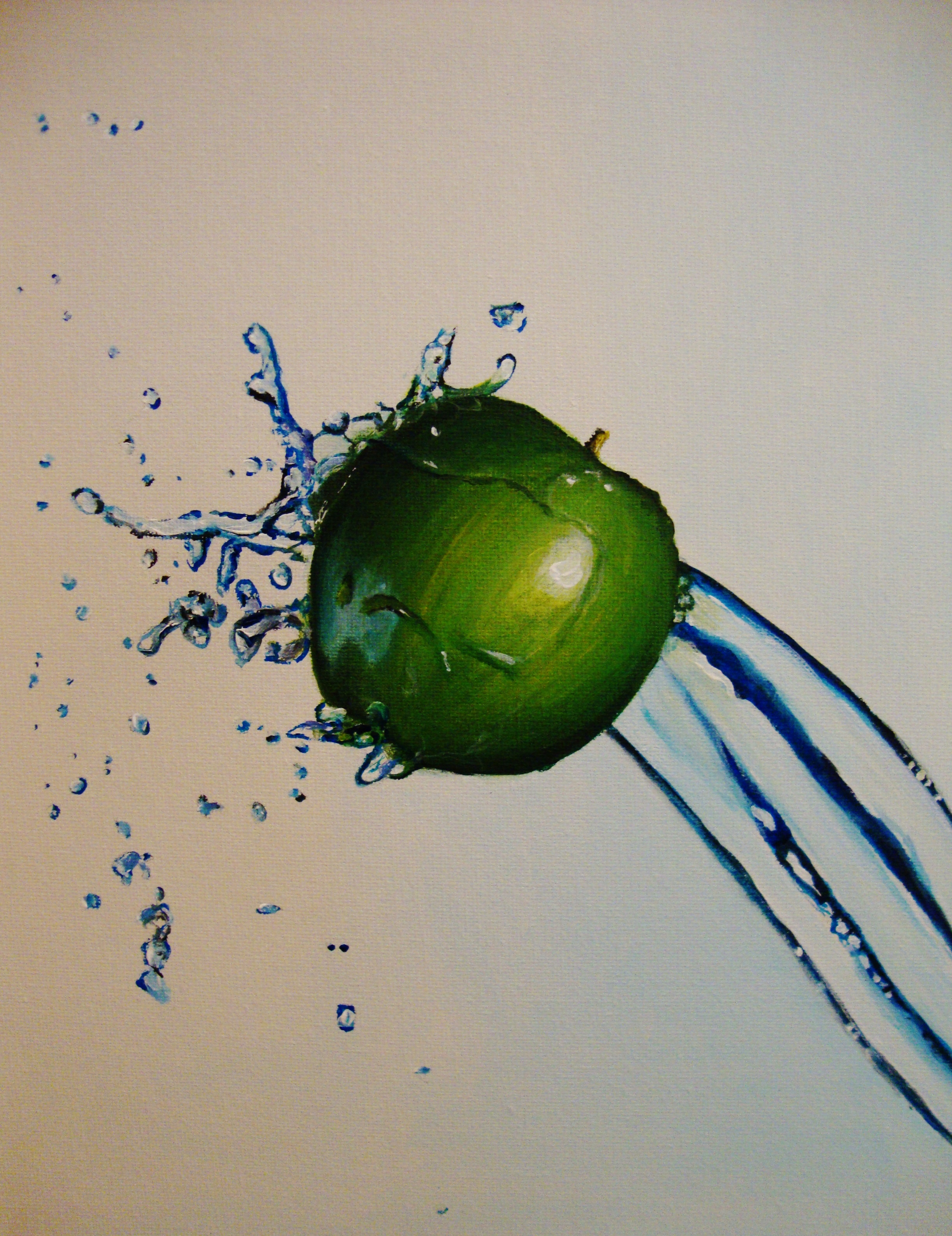 Green Apple Splash