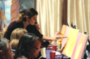 art paint party art lessons palette passions san diego paint parties