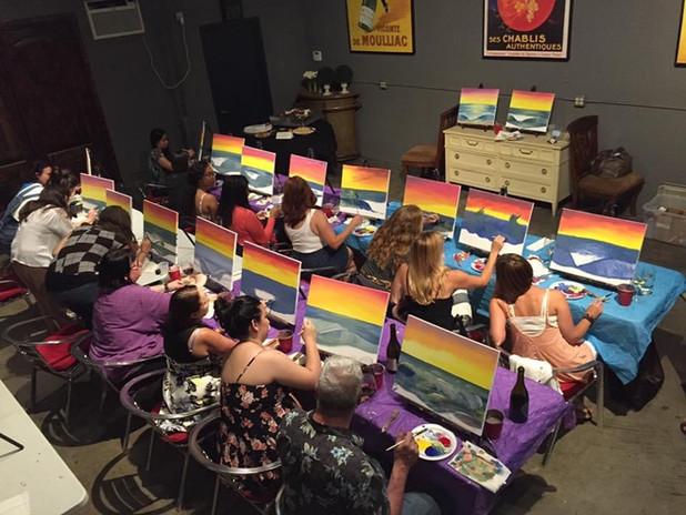 paint party palette passions