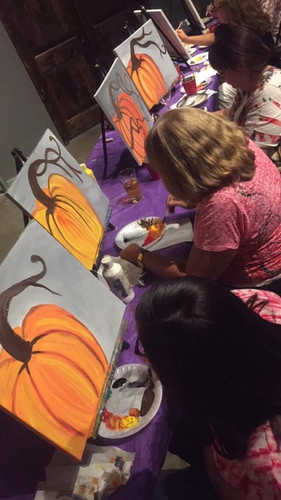fall paint party