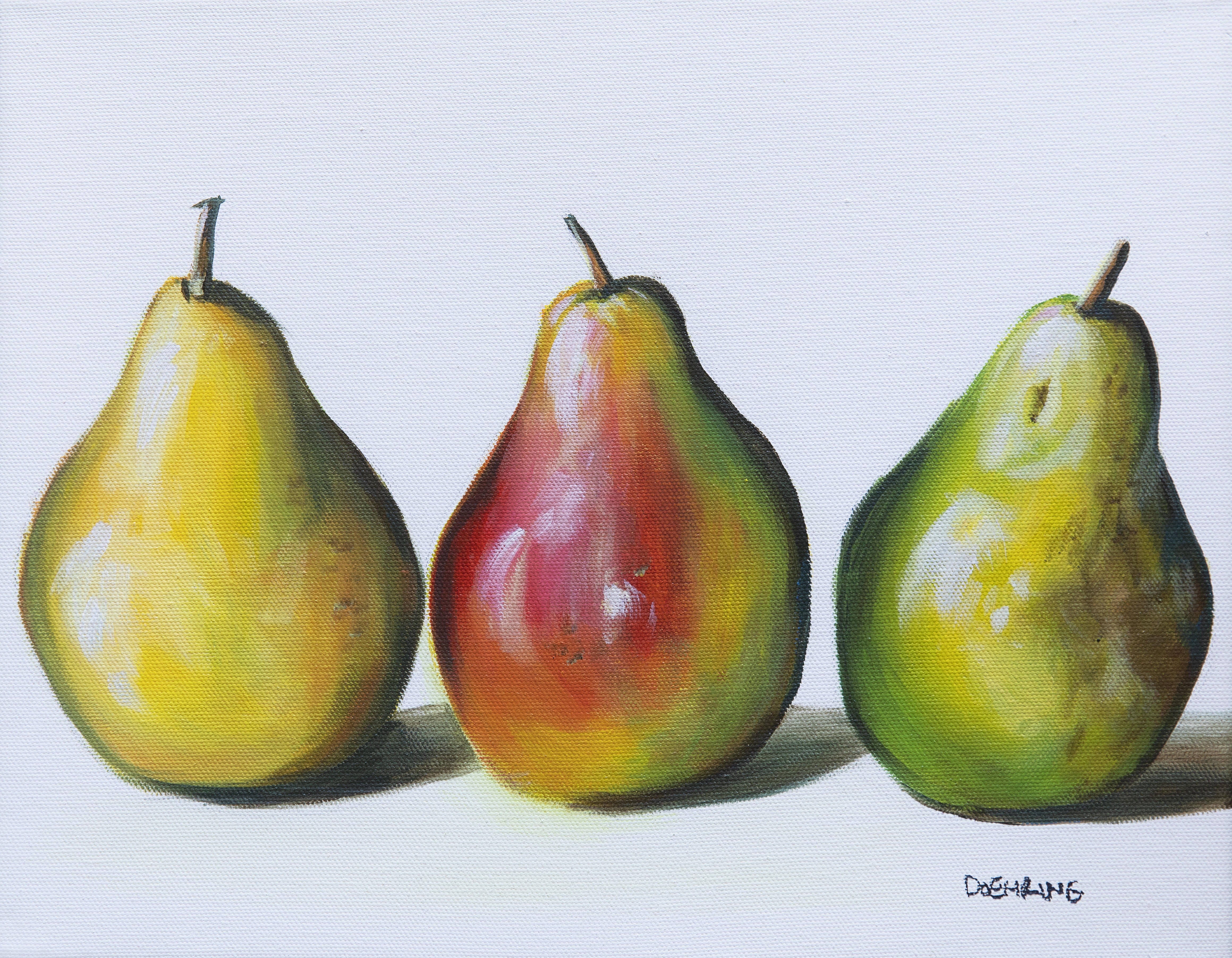 Pear Three Ways