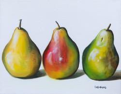 Pear Three Ways