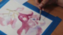 watercolor palette passions san diego paint party
