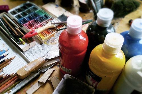 Single Person Paint Kit