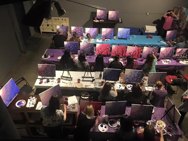 huge paint party!