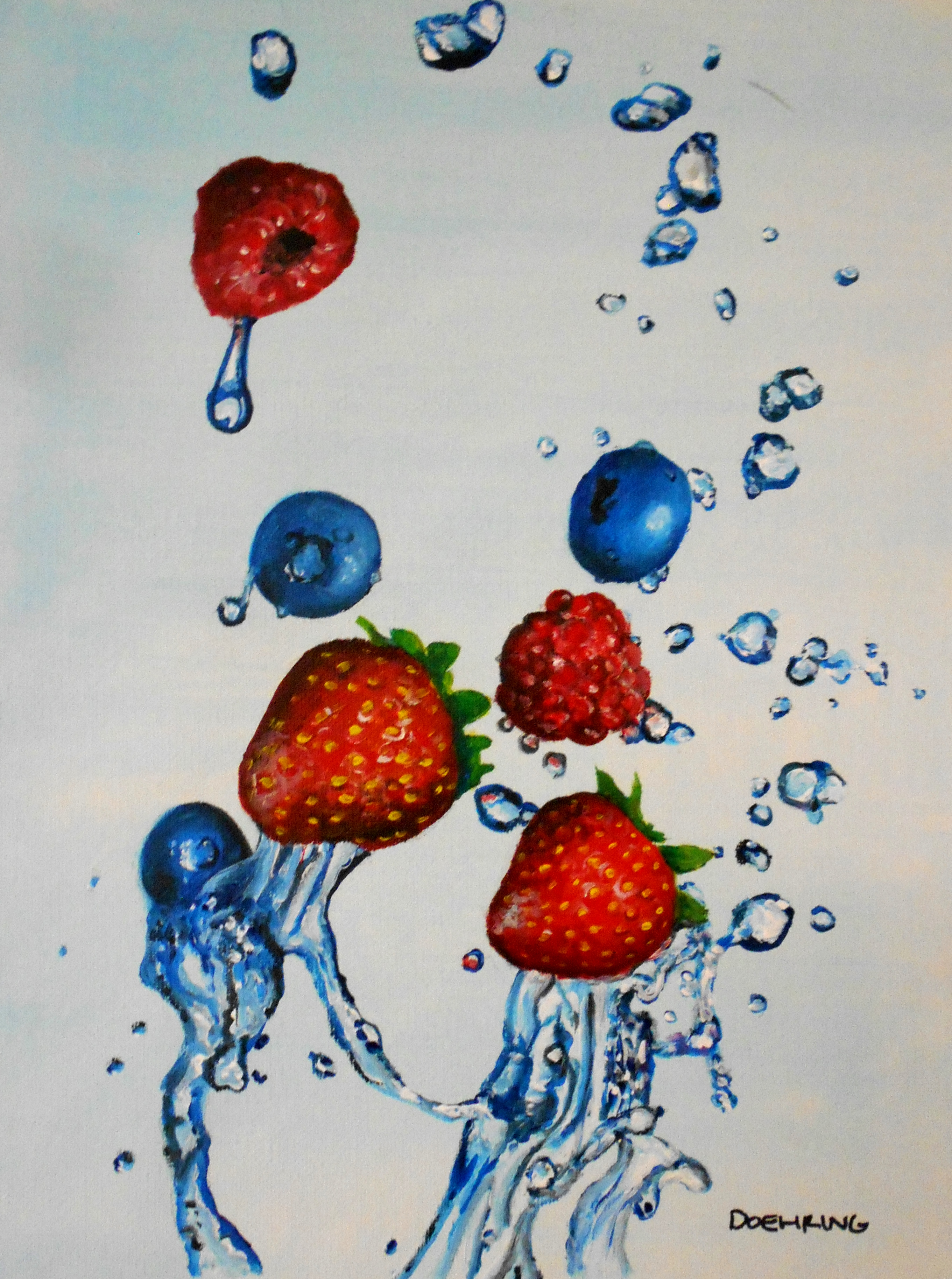 Berry Splash SOLD