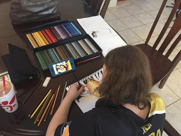 private lesson palette passions