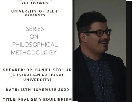 Series on Philosophical Methodology: Talk by Dr. Daniel Stoljar (Australian National University)