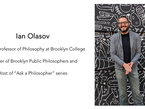 Episode 14 -Ian Olasov - Black Lives Matter, Ecological Control and Philosophers during the Pandemic