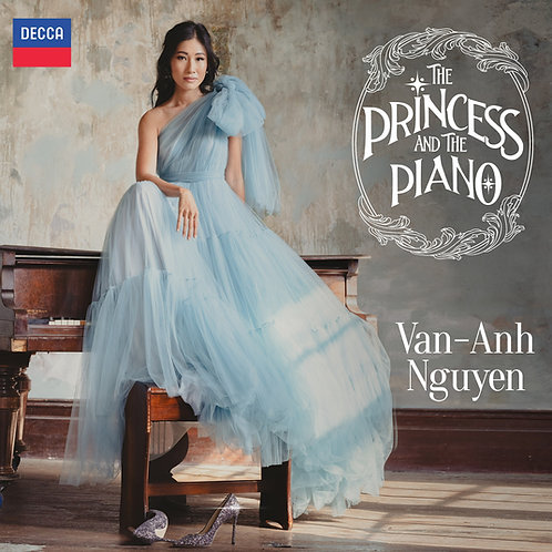 """The Princess & The Piano"" CD"