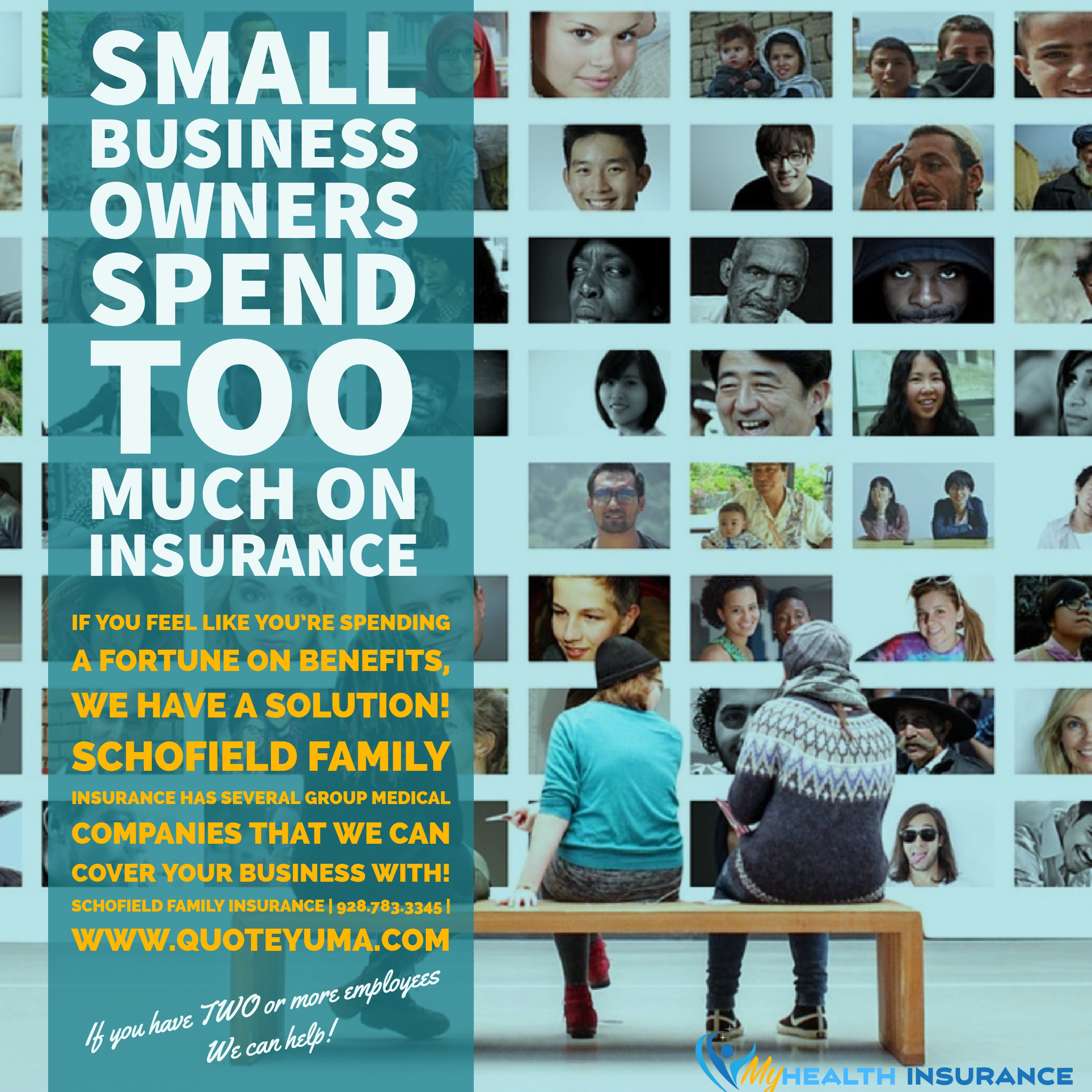 Schofield Family Insurance Small business owners press flyer 2