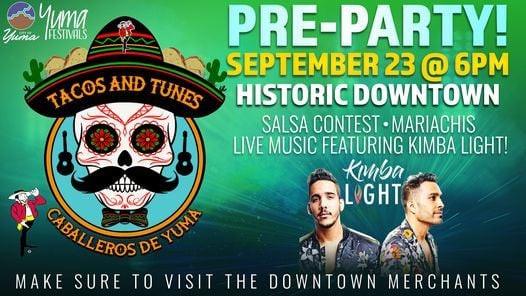 Tacos & Tunes Pre-Party