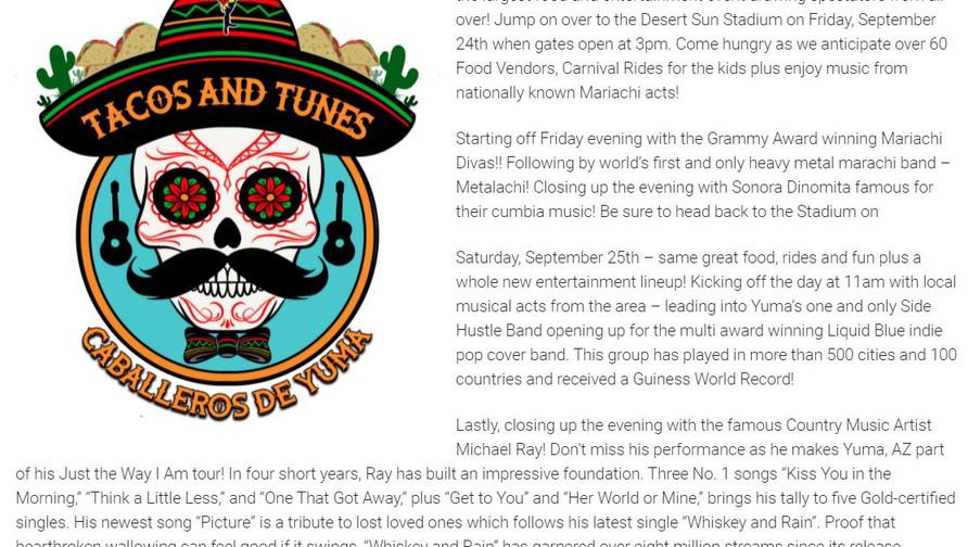 Tacos & Tunes 2021
