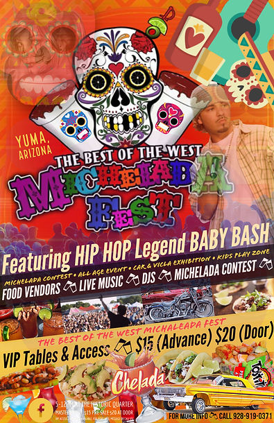 best of the west michelada fest flyer ba