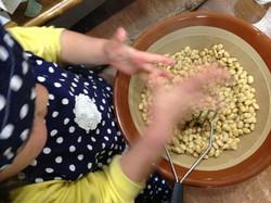 お味噌作り