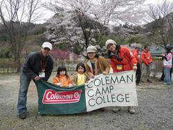 コールマンのキャンプイベントに参加
