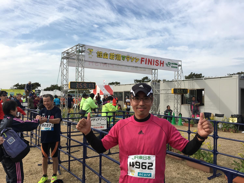 フルマラソン走り切りました!