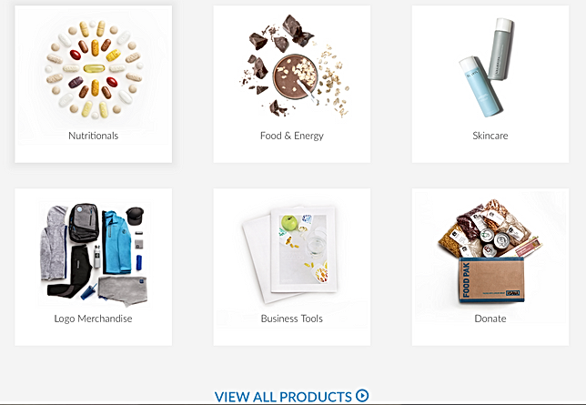 USANA supplements website
