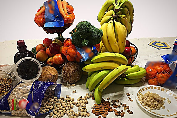 fruits, vegetables and grains