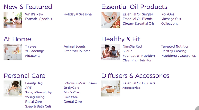 Young living site