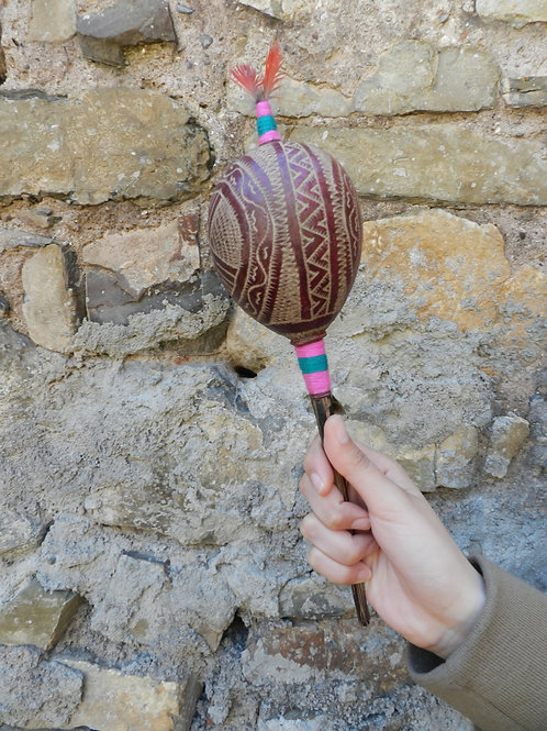Shipibo rattle