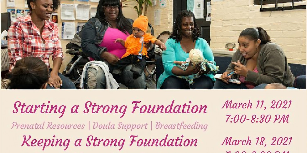 Keeping a Strong Foundation Mommy Circle