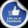 Sizzle Jacks - Like Us On Facebook Icon.