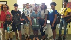 Book Bag Donation for Respond Career Training Program