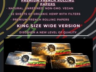 LoJ Originals Organic Hemp Rolling Papers