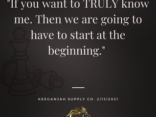 Let's Start At The Beginning