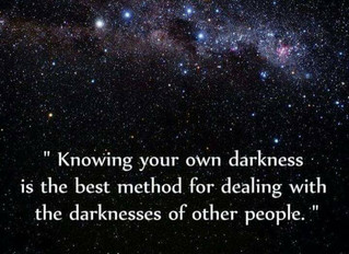 Know Your Darkness