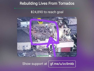 Mr Mello Red Studio Tornado Relief