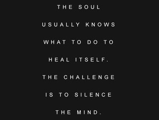 The Soul Knows Best