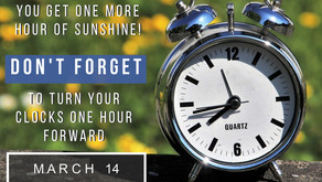 Don't forget to turn your clocks forward one hour Meade County! :)