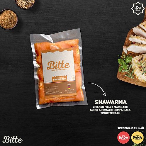 Rasa Shawarma Ayam Fillet Marinasi / Chicken Fillet Marinade - Bitte Food