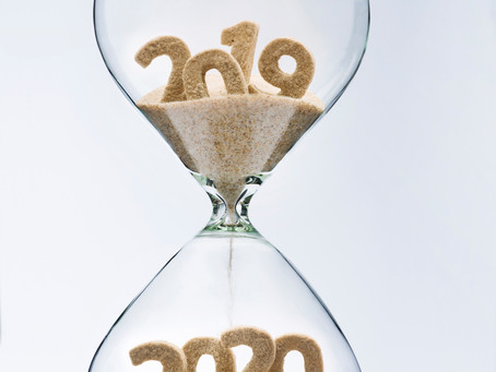 HAPPY NEW YEAR 2020 - Keep calm and invest money wisely