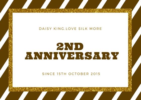 DaisyKing2周年アニバーサリーフェアー開催!