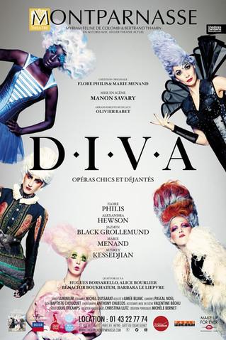 D.I.V.A au Théâtre Montparnasse