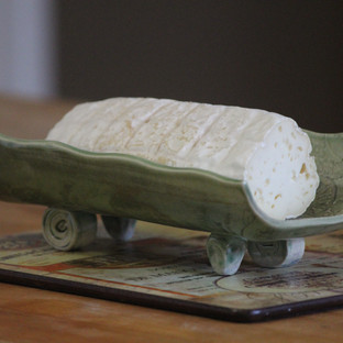 Goat cheese log Sankt Wendelin.JPG
