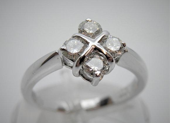 18ct Diamond Four Stone Ring