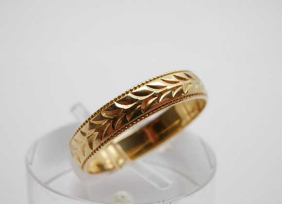 Second Hand 18ct Yellow Gold Band