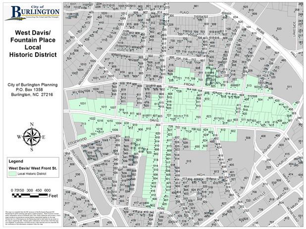 West Davis-Fountain Place Historic District