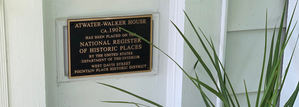 Atwater-Walker House ca. 1901