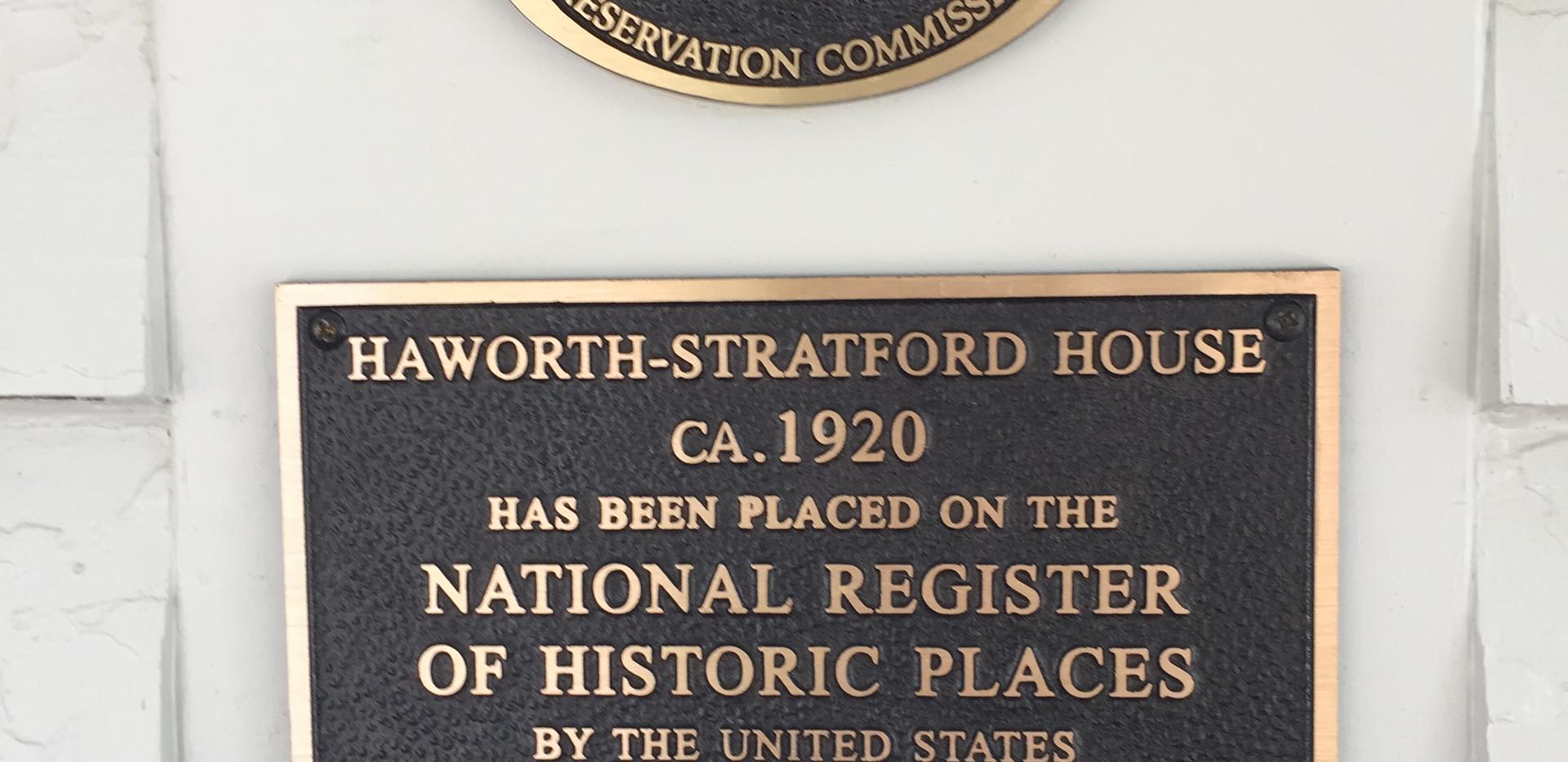 Haworth Stratford House ca. 1920