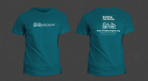 Buildings Tell Stories T-shirt